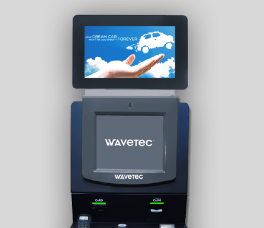 wavetec kiosk selfservice self