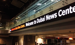 Dubai Media Incorporated (DMI) selects Wavetec for their LED Tickers to help create a dynamic media environment