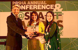 Proud Moment for the team at Wavetec, Donatello – Wavetec's Digital Signage Solution wins an award at the PASHA ICT Awards 2013