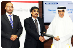 Bahrain Bourse Selects Wavetec to provide financial display technology