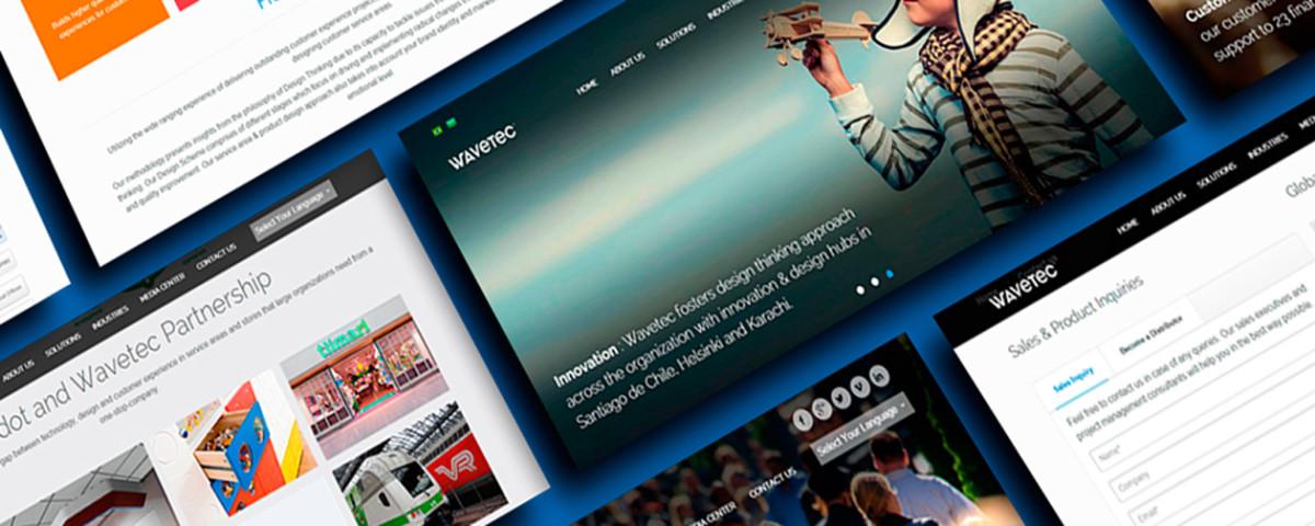 Wavetec launches a new website & modernized brand identity