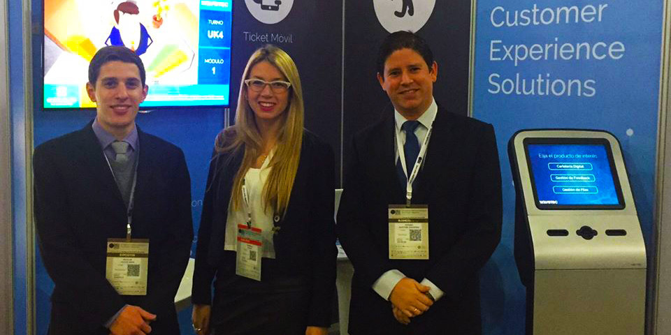 Wavetec stands at the forefront of the latest technological trends at Chile Digital 2015