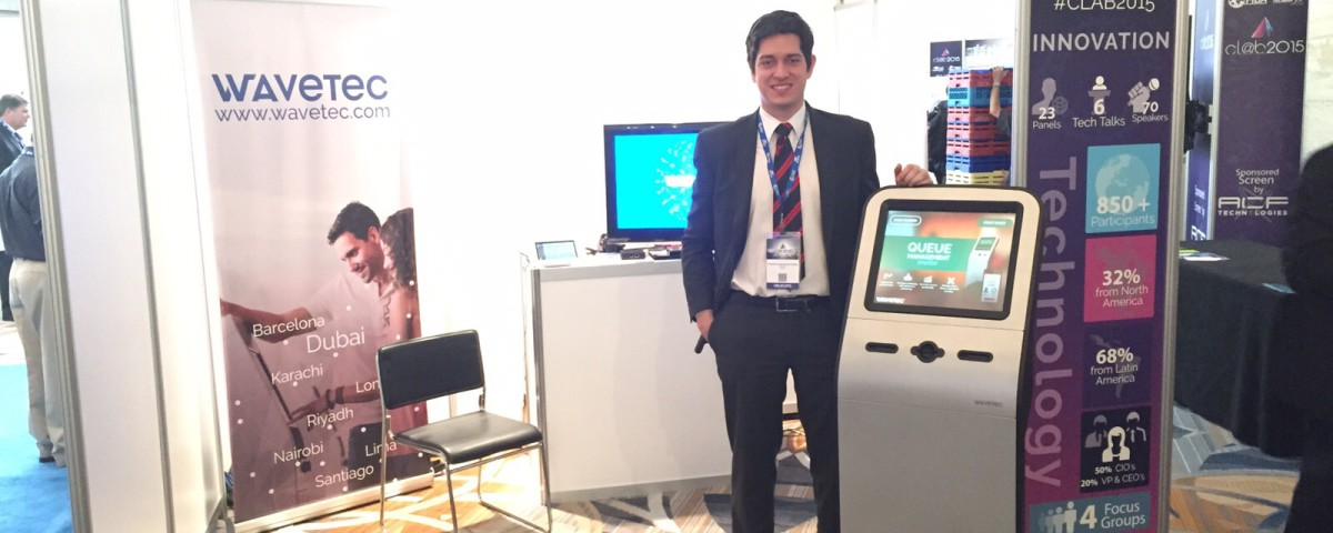 Wavetec marked a firm presence at CL@B Miami 2015