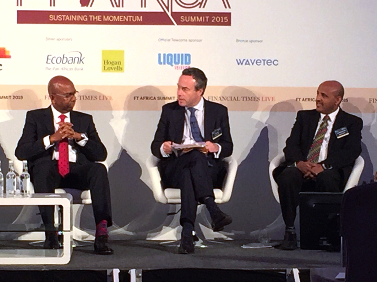 Wavetec marc una fuerte presencia en ft africa summit for Oficinas ing barcelona