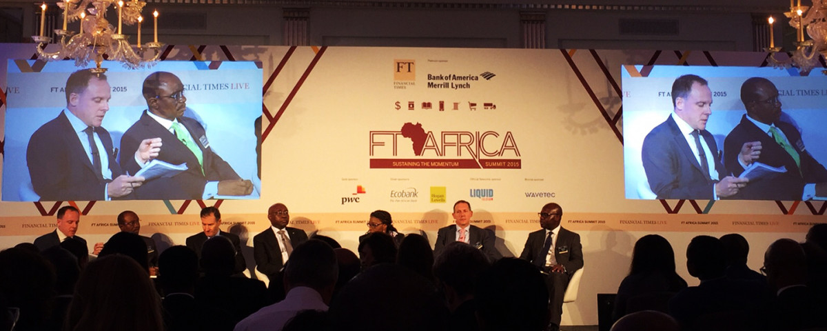 Wavetec marks a strong presence at the FT Africa Summit 2015