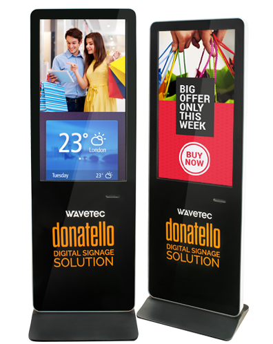 digital signage donatello wavetec