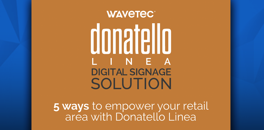 How to empower your service areas with Donatello Linea
