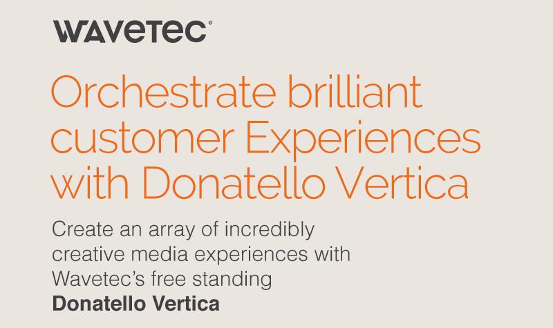 Orchestrate brilliant customer experiences with Donatello Vertica