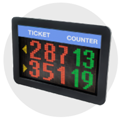 led display counter wavetec