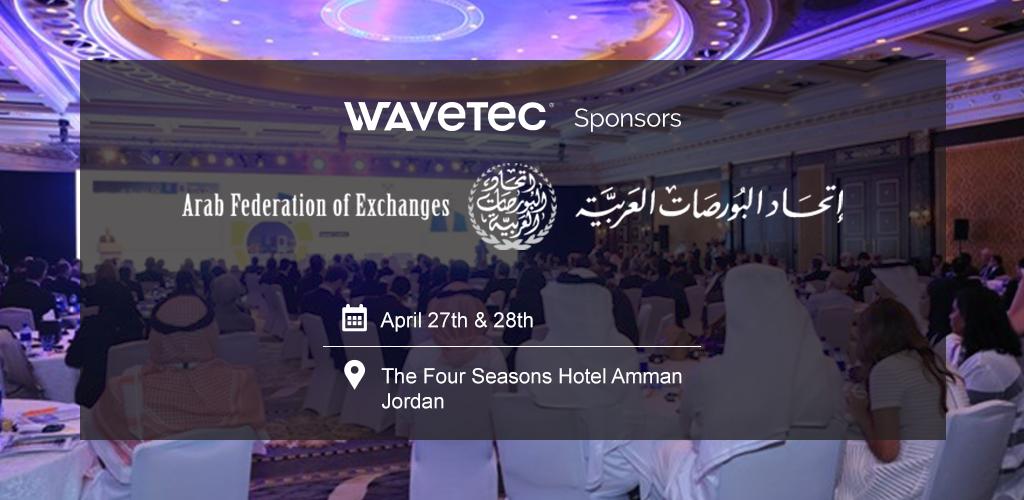 Wavetec se asocia con la Federación Arábiga de Intercambio para la Conferencia Anual de la FAI 2016