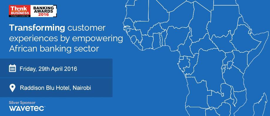 Wavetec interviene para premiar a los principales bancos en África mediante el patrocinio de los Premios a la Banca de 2016