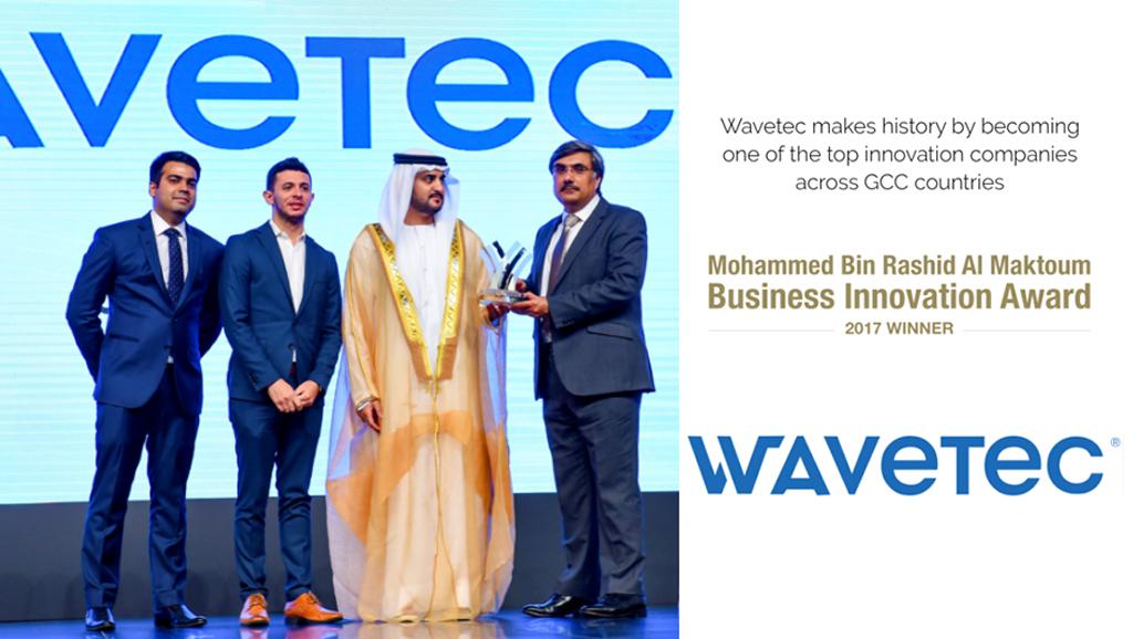 Wavetec takes home Mohammed Bin Rashid Al Maktoum Business Innovation Award across GCC