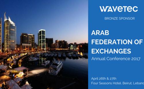 Wavetec patrocina la Conferencia Anual de la Federación Árabe de Intercambios 2017