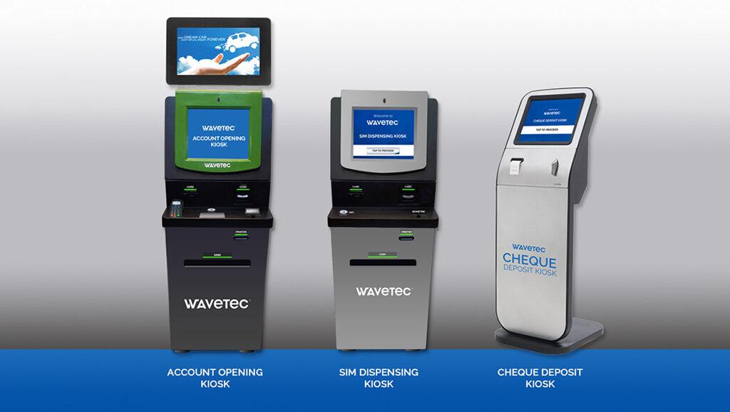 Wavetec unveils Next Generation Self Service Kiosks for Banking & Telecom Industries