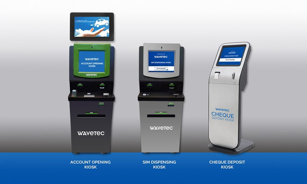 Wavetec Unveils Next Generation Self Service Kiosks For