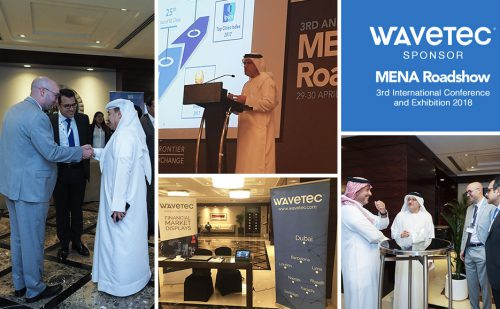 Wavetec Sponsors The Mena Roadshow International Conference 2018