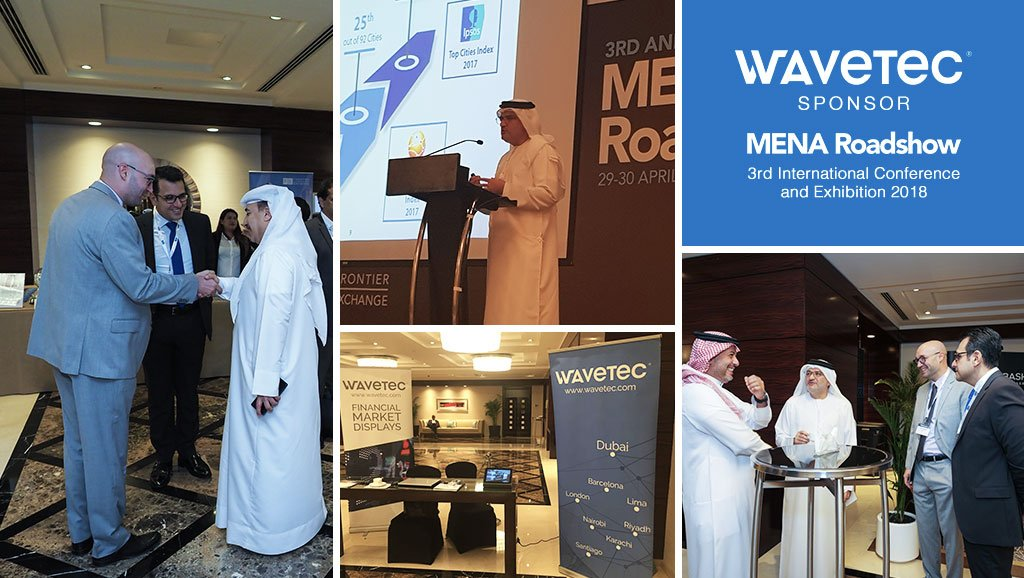 Wavetec Sponsors The Mena Roadshow International Conference 2018