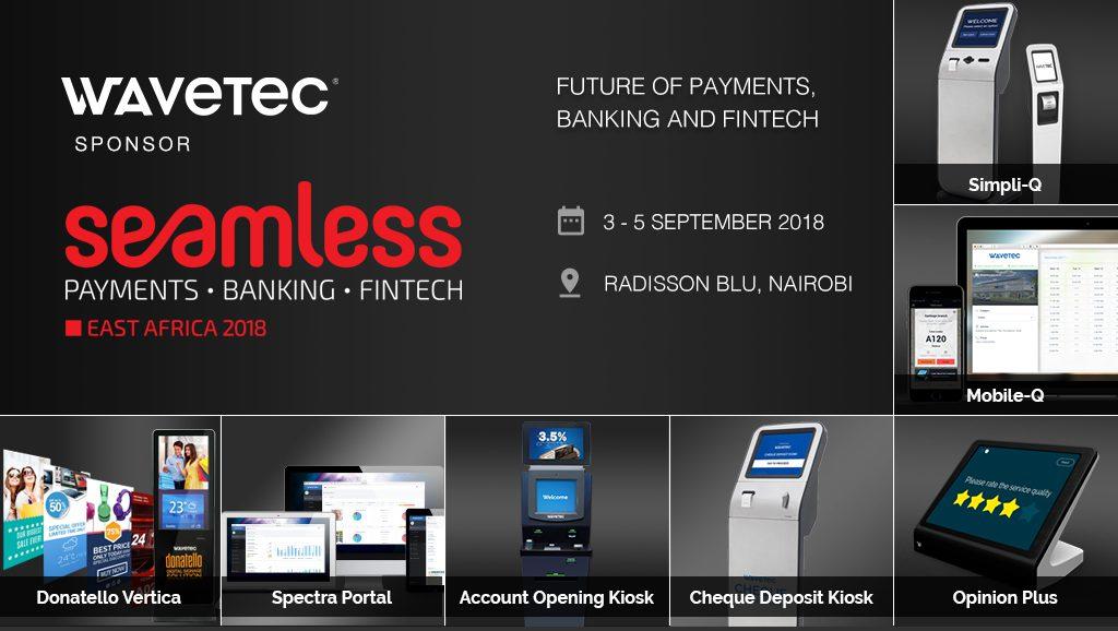 Wavetec Sponsors Seamless Africa – Digital Branch Transformation 2018