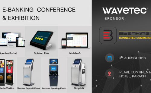 Wavetec Participates as 'Gold Sponsor' at E-Banking Conference & Exhibition 2018