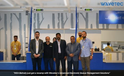 A.A Bin Hindi-EEMD Installs Wavetec Queue Management Solutions for IKEA Bahrain