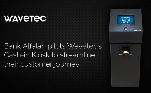 Bank Alfalah Selects Wavetec for a Nationwide Deployment of Wavetec's Smart Cash-in Self Service Kiosks