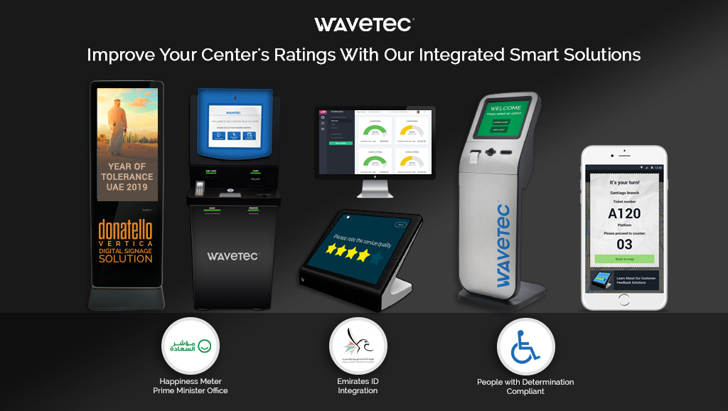 Wavetec is officially integrated with Happiness Meter, EIDA and People with Determination Compliant