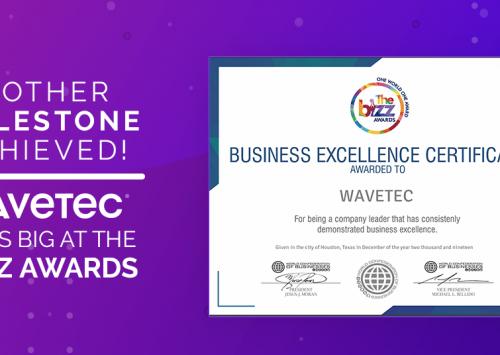 Wavetec wins big at The Biz Awards
