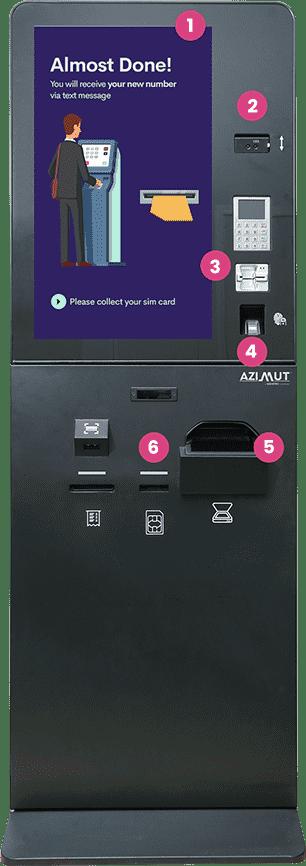 Sim Dispensing Kiosk - Telecom