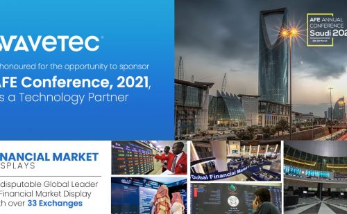 Wavetec is proud to be a Technology Partner in the 2021 AFE Annual Conference Saudi