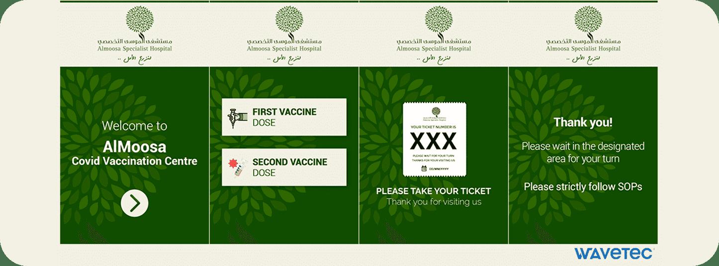AlMoosa Covid-19 vaccination centre