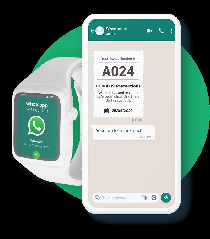 WhatsApp Virtual Queuing Solution