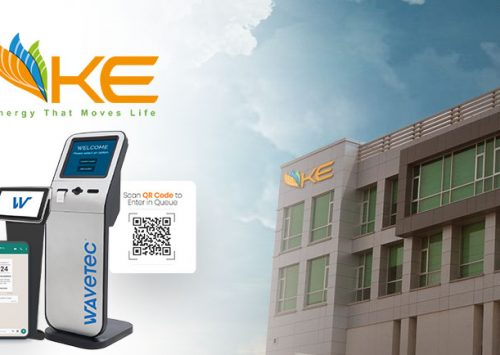 Looking to improve Customer Experience, K-Electric (KE) chooses Wavetec WhatsApp Queueing and Visitor Management Technology