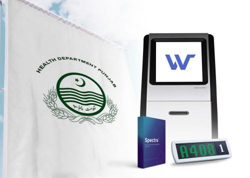 Wavetec outfits district hospitals across Pakistan with an integrated queue management solution