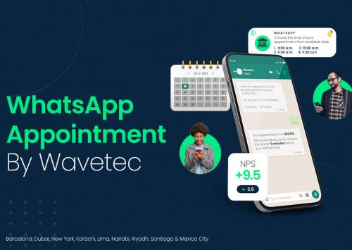 Queuing, booking and conscious brand building – Wavetec launches WhatsApp Appointments