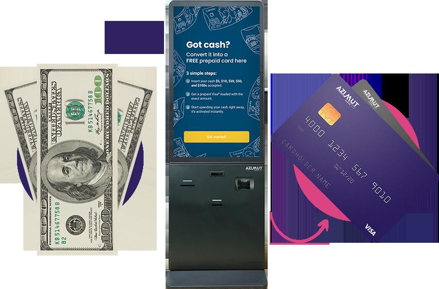 Reverse ATM 3 step process | Azimut